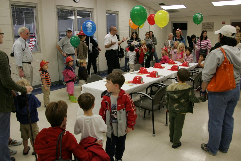 Have A Firehouse Birthday Party Our Meeting Hall Is Available For Two Hour Parties On Weekends From 10 AM Until